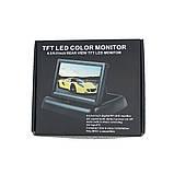 """Монитор для камеры заднего вида DS-5 Видеорегистратор Цветной автомобильный экран 5"""" с 2 видеовыходами, фото 9"""