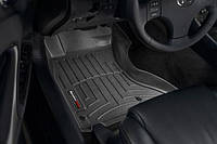 (AWD) Коврики резиновые с бортиком, передние, черные. (WeatherTech) - IS - Lexus - 2006