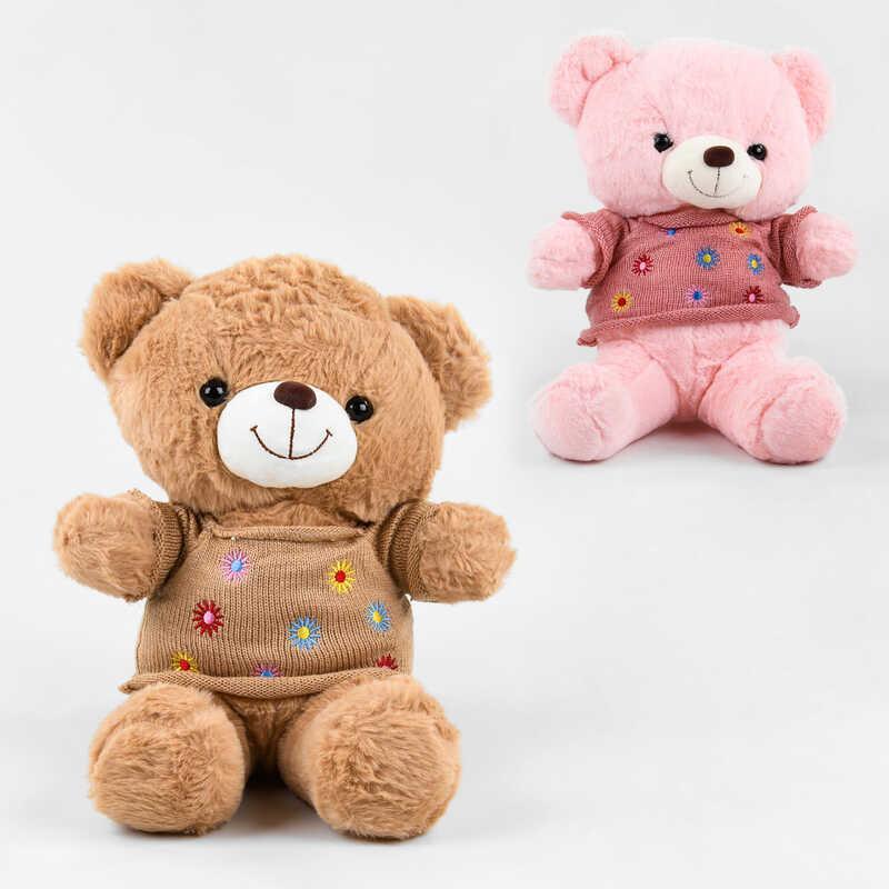 Мягкие игрушки плюшевый Мишка арт.C 39907, 33см (есть два цвета)