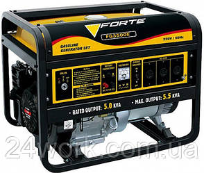 Бензиновий генератор FORTE FG3500Е