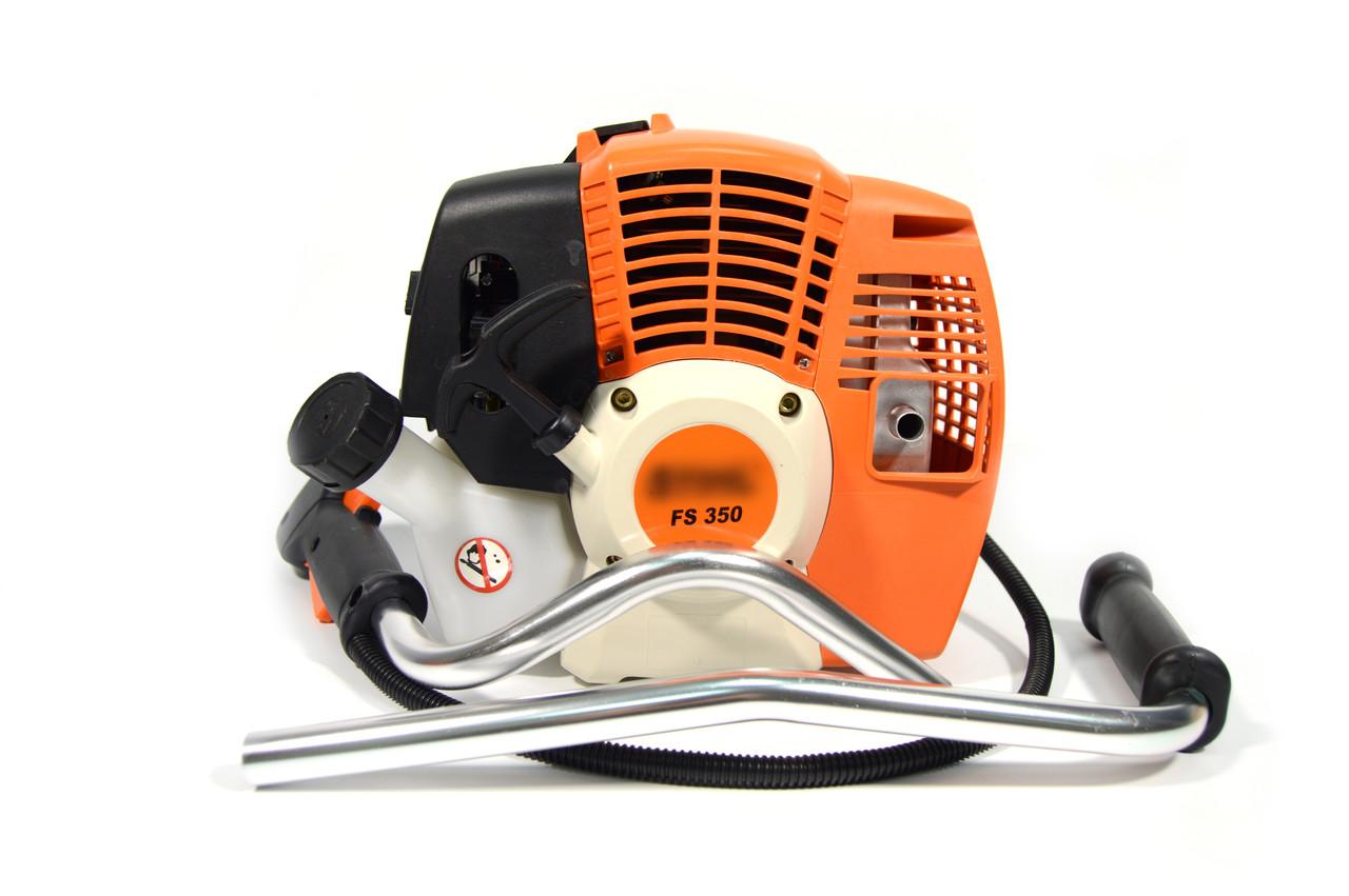 Мотокоса бензиновая  FS 350 Улучшенная (Бензокоса ФС 350) 3.5 кВт/4.8 л.с (широкая комплектация)