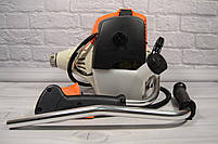 Мотокоса бензиновая  FS 350 Улучшенная (Бензокоса ФС 350) 3.5 кВт/4.8 л.с (широкая комплектация), фото 6