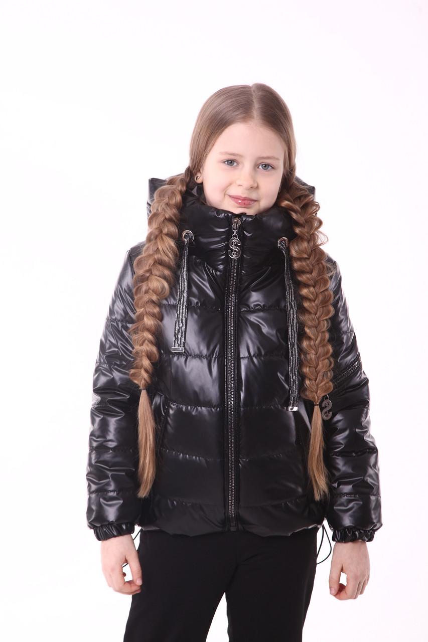 Куртка на девочку 134-158 черный