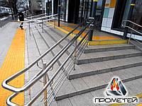 Роздільники потоку для сходів з нержавіючої сталі на ганок від виробника в Хмельницькому та Хмельницькій області, фото 1