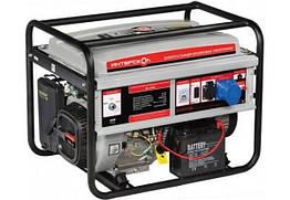 Бензиновый генератор Интерскол ЭБ-6500 6 кВт электрогенератор, бензиновая автономная электростанция