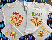 Семейные футболки с принтом - Мы вместе всегда