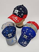 Детские бейсболки Reebok с сеткой оптом для мальчиков, р.54, фото 1