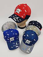 Дитячі бейсболки Jordan з сіткою оптом для хлопців, р.54, фото 1