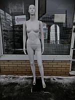Манекен женский белый без подставки