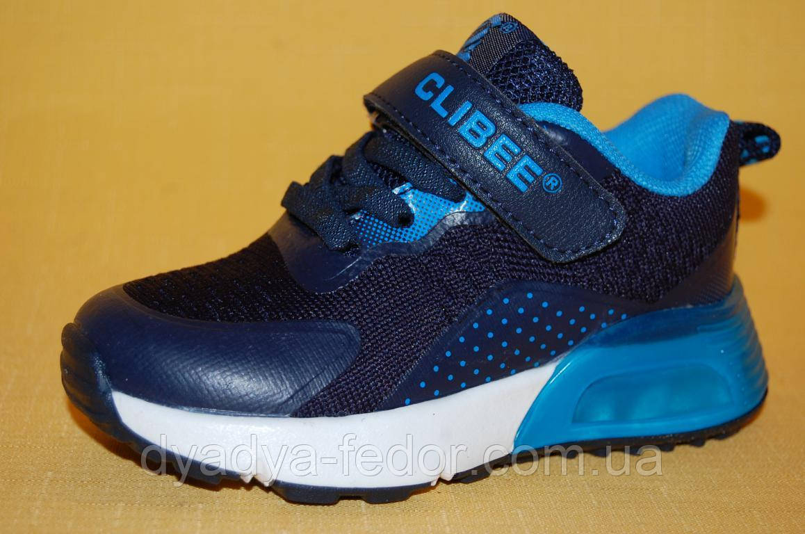 Дитячі Кросівки повсякденні Clibee Польща 20121 Для хлопчиків Синій розміри 25_30 27, Довжина устілки 16.5 см