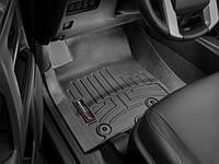 Коврики резиновые с бортиком, передние, черные. (WeatherTech) - 4Runner - Toyota - 2013