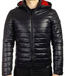 Стеганая демисезонная мужская  куртка