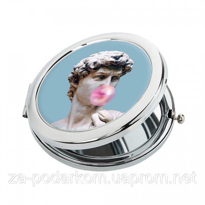 "Дизайнерское карманное зеркальце ""Аполлоныч"""
