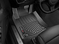 Коврики резиновые с бортиком,передние, черные (WeatherTech) - Panamera - Porsche - 2010