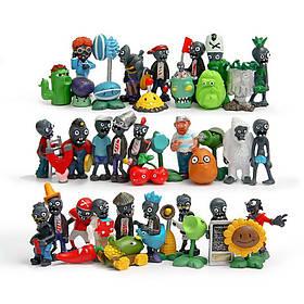Набір Рослини проти зомбі Plants vs Zombies 40 фігурок КОД: 40zomb