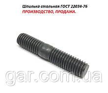 Шпилька М20 ГОСТ 22034-76 з кінцем ввинчиваемым