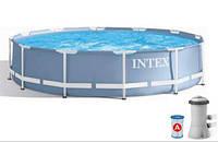 Intex 26712, каркасный бассейн 366 x 76 см Prism Frame Pool