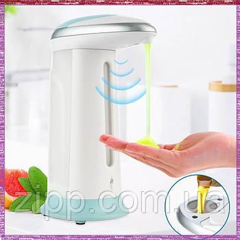 Сенсорный дозатор для мыла и антисептика SOAP MAGIC мыльница для жидкого мыла 380 мл   Дозатор для антисептика