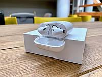 Безпровідні Оригінальні навушники Apple AirPods 2 + Смарт браслет M5. Блютуз Гарнитура Безпровідні навушники.