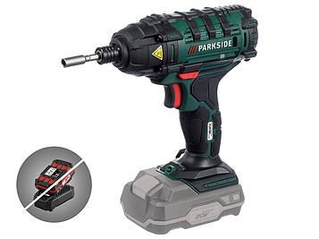 Акумуляторний ударний гайковерт PARKSIDE PDSSA 20-Li A1 (Без акумулятора / без зарядного пристрою)