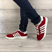 Мужские красные кроссовки Wonex Вонекс демисезонная легкая спортивная обувь стильные кросы для мужчин