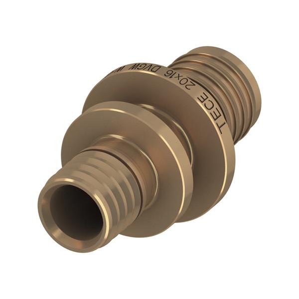 Муфта соединительная редукционная TECE 16x14 бронза