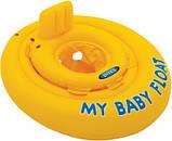 Детский надувной круг Intex плотик ходунки от 6-12 месяцев арт. 56585, фото 3