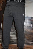 Спортивные серые брюки , батал