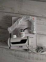 Проточный водонагреватель для кухни с экраном