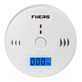 Датчик чадного газу побутової сигналізатор CO Fuers JKD6021 Білий КОД: 100203
