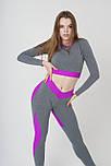 Спортивний лонгслів Purple Mood, фото 3