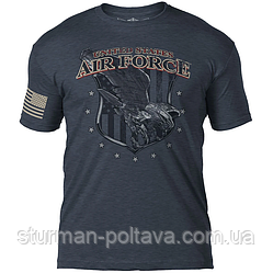 Футболка чоловіча патріотична вінтаж U. S. Air Force Air Superiority 7.62 Design Battlespace men's T-Shirt