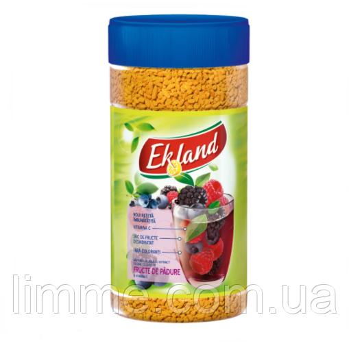 Чай розчинний гранульований Ekland з смаком лісових ягід 350 р.