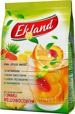 Чай розчинний гранульований мультифруктовий Ekland Multifruit 300 г.