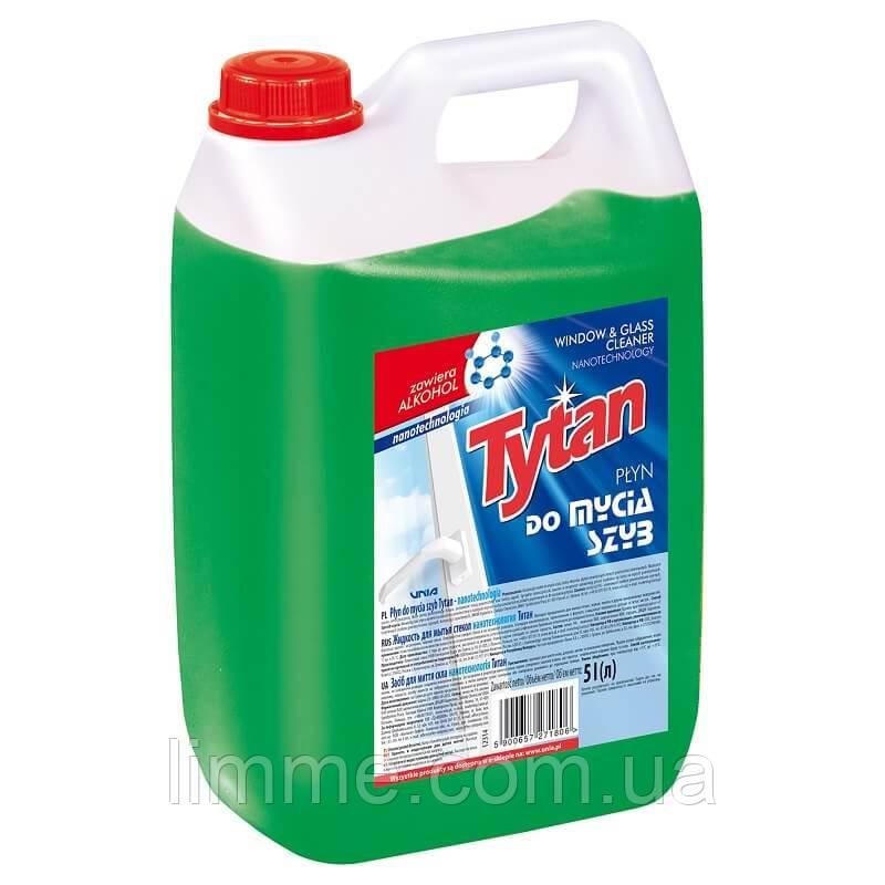 Рідина для миття скла Tytan Window & Glass Cleaner 5 л