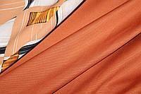 Тканина Джерсі, трикотаж колір теракот