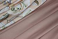 Ткань Джерси, трикотаж, беж