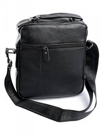 Мужская сумка 4286 черная, фото 2