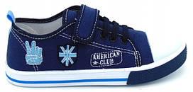 American club синие кеды