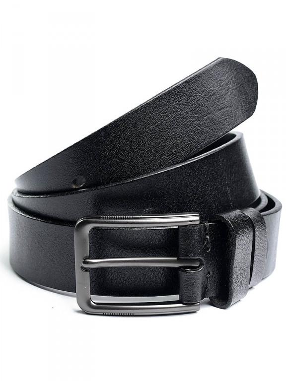 Ремень 5308 Case черный из натуральной кожи