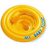 Детский надувной круг Intex плотик ходунки от 6-12 месяцев арт. 56585, фото 4