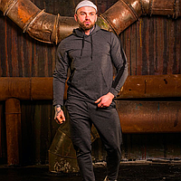 Спортивный костюм мужской с лампасами, демисезонный, худи с капюшоном и штаны, asos
