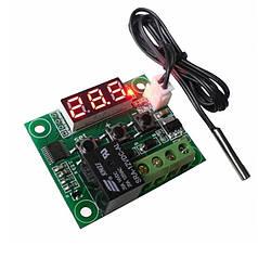 Цифровой термостат W1209 с функцией нагрева или охлаждения. Отлично подойдет для инкубатора, аквариума.
