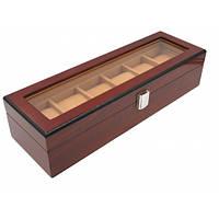 Шкатулка для часов Craft деревянная 6WB.BR.X
