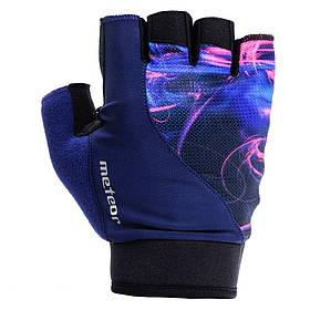 Велоперчатки Meteor Gel GX150 L Синие КОД: m0122