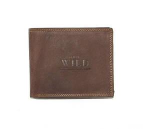 Гаманець чоловічий Always Wild N992-MH U Brown КОД: N992-MH U Brown