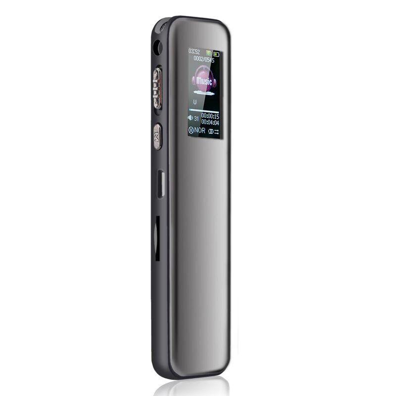 Диктофон цифровой Savetek GS-R60 8 Гб с активацией голосом Черный  КОД: 100640