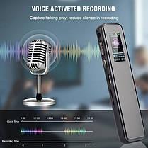 Диктофон цифровой Savetek GS-R60 8 Гб с активацией голосом Черный  КОД: 100640, фото 3