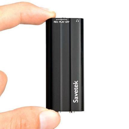 Міні диктофон з активацією голосом Savetek 600, 16 Гб, 50 годин запису КОД: 5696, фото 2