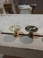 Декорирование мебельных ручек поталью